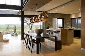 South African Kitchen Designs House Serengeti Sharp Angles Contemporary Architecture