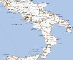 Italy On Map Map Of Southern Italy