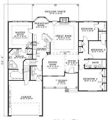Simple Floor Plans With Dimensions Simple Floor Plans With Measurements On Floor With House Floor