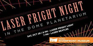 Festival Of Lights Peoria Il Laser Light Night Fright Light U0026 Beatles U2013 Artspartners Of