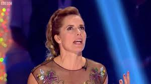 darcey bussell earrings strictly come 2017 teary hawkins slammed by