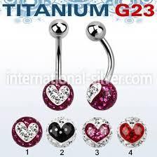 belly rings titanium images Wholesale titanium g23 implant grade belly rings jpg