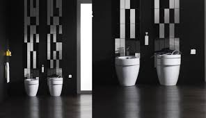 black and white bathroom tile designs contemporary bathroom design with black white wall tiles and white