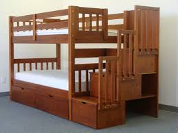 Queen Bunk Beds With Stairs Latitudebrowser - Queen sized bunk beds