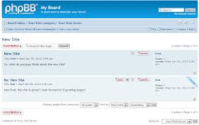 how phpbb community software works inmotion hosting