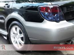 subaru wrx custom rtint subaru wrx wagon 2004 2005 tail light tint film