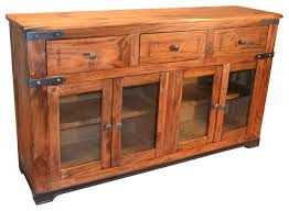 greenview parota wood sideboard rustic buffets and sideboards