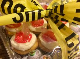 nice halloween pictures crime scene cupcakes sugar and spice