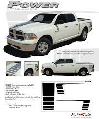 dodge ram decals canada 2009 2018 dodge ram 1500 truck power decals racing stripe 3m pro