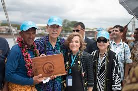 Peter Benchely - hōkūleʻa u2014 nainoa thompson honored at 2015 peter benchley ocean