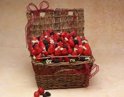gift baskets los angeles fresh strawberry basket mixed berries in a basket gourmet