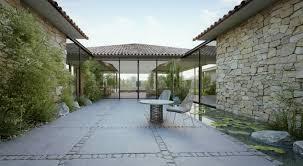 court yard designs modern cottage design in israel modern