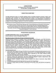 Sample Executive Summary Resume by Examples Resumes Beautician Cosmetologist Resume Example