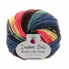 debbie bliss rialto dk print 03 knitting yarn wool and knitting