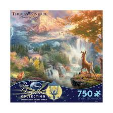 thomas kinkade halloween ceaco thomas kinkade disney dreams bambi u0027s first year 750 pcs