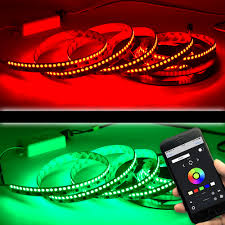 Amber Led Strip Lights by Ws2811 Dc12v 44leds Ft Programmable Led Strip Lights Addressable
