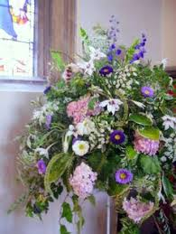 Wedding Flowers For September Image Detail For Decorated With Pretty Blue And White Welcome