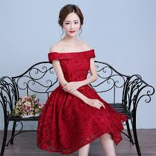 designer cocktail dresses burgundy junior formal prom dresses with sleeves cheap