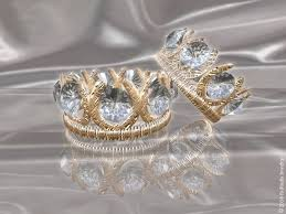 Crown Wedding Rings by Valentine Day Fashion Collection Fairodis Jewelry Fairiesgifts Net