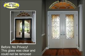 Interior Double Doors Without Glass A Variation Of Wrought Iron Double Doors