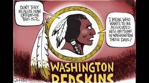 Redskins Meme - a liberal and conservative warn of government overreach