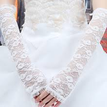 online get cheap long white lace gloves aliexpress com alibaba