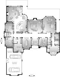 san jacinto florida style home plan 032d 0666 house plans and more santa fe house plan first floor 032d 0666 house plans and more