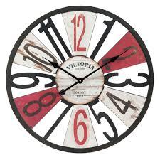 Horloge Cuisine Rouge by Horloge D 60 Cm Douglas Maisons Du Monde