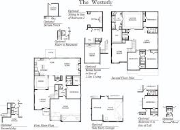 3 Car Garage Floor Plans Westerly The Crossings At Timberlands Dallas Georgia D R