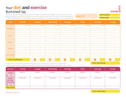 free printable diet u0026 exercise worksheet but if you have a