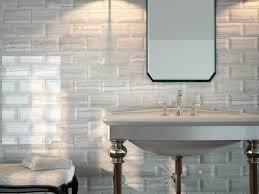 Grey Metro Bathroom Tiles Metro Grey Travertine Effect Bevelled Wall Tiles