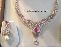 simple diamond sets 23 best indian jewelry images on jewellery designs