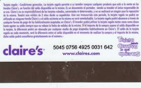 claires gift card gift card s s spain s col es 001