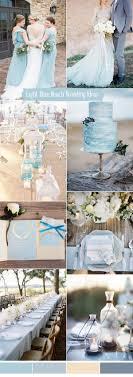 blue wedding ten prettiest shades of blue for 2017 wedding color ideas