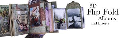 Flip Photo Album 3d Flip Fold Albums Heartfelt Creations