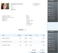personal invoice template uk invoice example