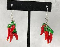 Chili Pepper Christmas Ornaments - red chili peppers etsy