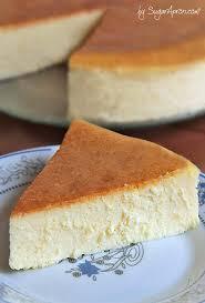 new york style cheesecake sugar apron