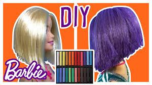 diy dye barbie doll hair u2013 change barbie hair color