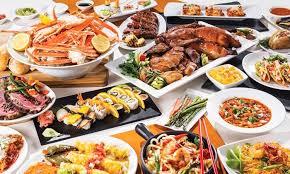Las Vegas Buffets Deals by International Dinner Buffet Carnival World Buffet Rio