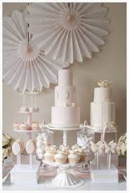 Pink And White Candy Buffet by Best 25 Pink Dessert Tables Ideas On Pinterest Pink Round