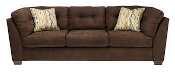 Ashley Furniture Chaise Sofa by Buy Ashley Furniture 1970238 1970234 1970217 Delta City Chocolate