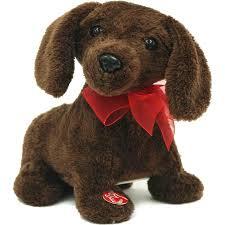 Singing Stuffed Animals 8 Animated Singing And Plush Puppy Walmart