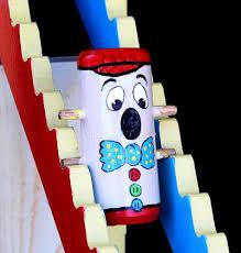 tumbling clown via vintage european wood toy plans plus free plans