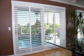 sliding glass door blinds home depot shutters for sliding glass doors blinds exterior plantation