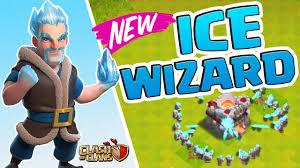 ice wizard new troop clash of clans update youtube