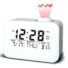 clock radio with night light voice activated alarm clock radio voice activated voice alarm clock
