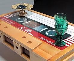 cassette tape coffee table for sale cassette tape coffee table buy me this pinterest