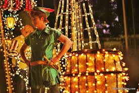 electric light parade disney world peter pan electrical light parade magic kingdom walt disney world