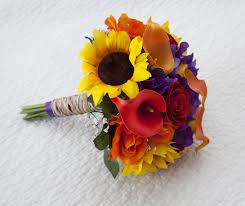 wedding flowers sunflowers lovely fall wedding flowers with sunflowers ipunya